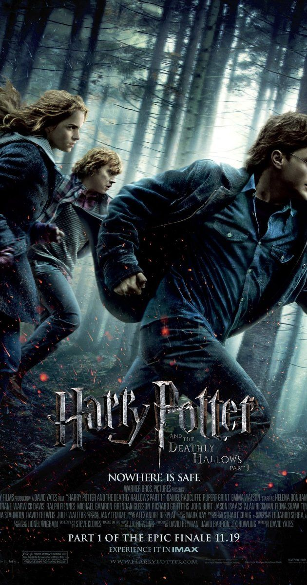 Directed by David Yates. With Daniel Radcliffe, Emma Watson, Rupert Grint, Bill Nighy. As Harry races against time and evil to destroy the Horcruxes, he uncovers the existence of three most powerful objects in the wizarding world: the Deathly Hallows.