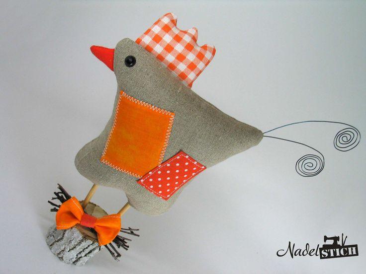 Пасхальные украшения - курица в стиле Тильда на Пасху & Amp; Весна - дизайнер кусок Frances-Hofmann в DaWanda