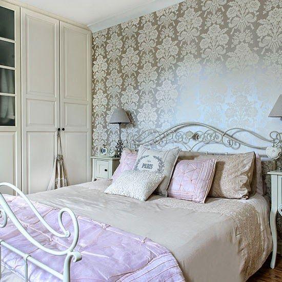 15 quartos de Casal com tecido na parede