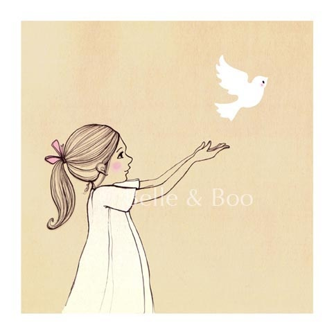 Belle & Boo print