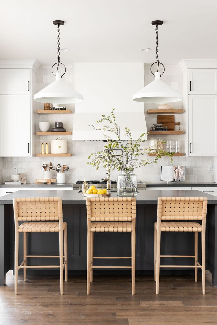 Organic Modern Kitchen Design Plan | The DIY Playbook Classic Kitchen, New Kitchen, Kitchen Ideas, Kitchen Tile, Kitchen Trends, Updated Kitchen, Kitchen Living, Kitchen Cabinets, Organic Modern