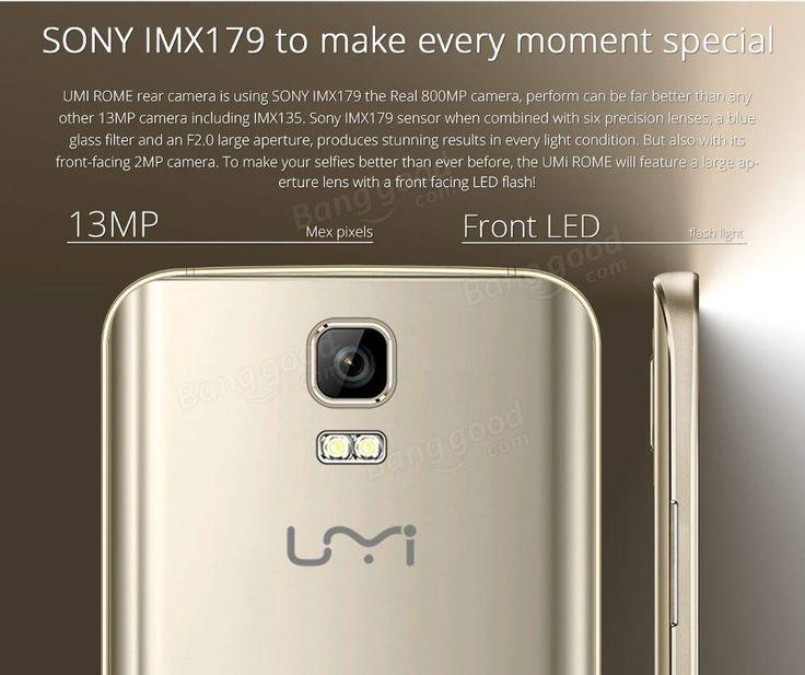 UMI ROME 5.5-inch 3GB RAM MTK6753 Octa Core 64Bit 4G Smartphone Sale-Banggood.com
