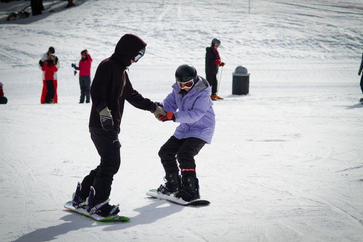 Snowboarding school with Czech Adventures