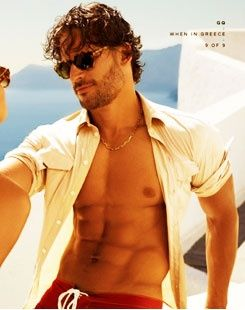 Joe Manganiello, other known as Big Dick Richie from MagicMike.