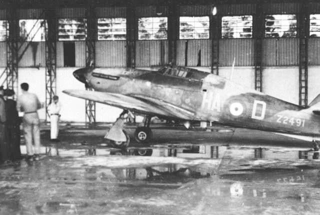 Hangar dell'aeroporto neggli anni '40