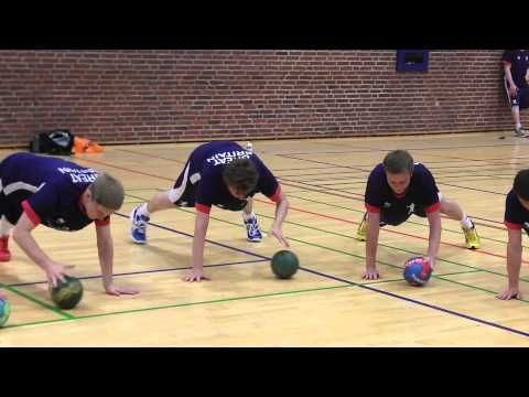THA Handball - Physical preparation exercise - YouTube
