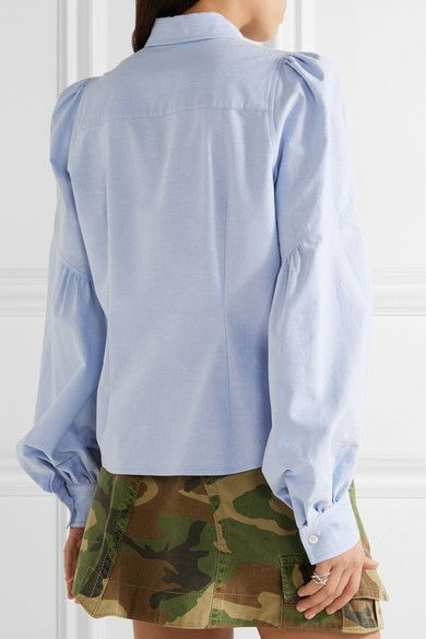Marc Jacobs - Cotton Oxford Shirt - Light blue - US