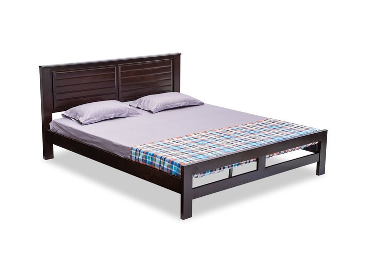 Durian King Size Bed (Matt Finish, Red) - Where Can I Buy The Best Furniture