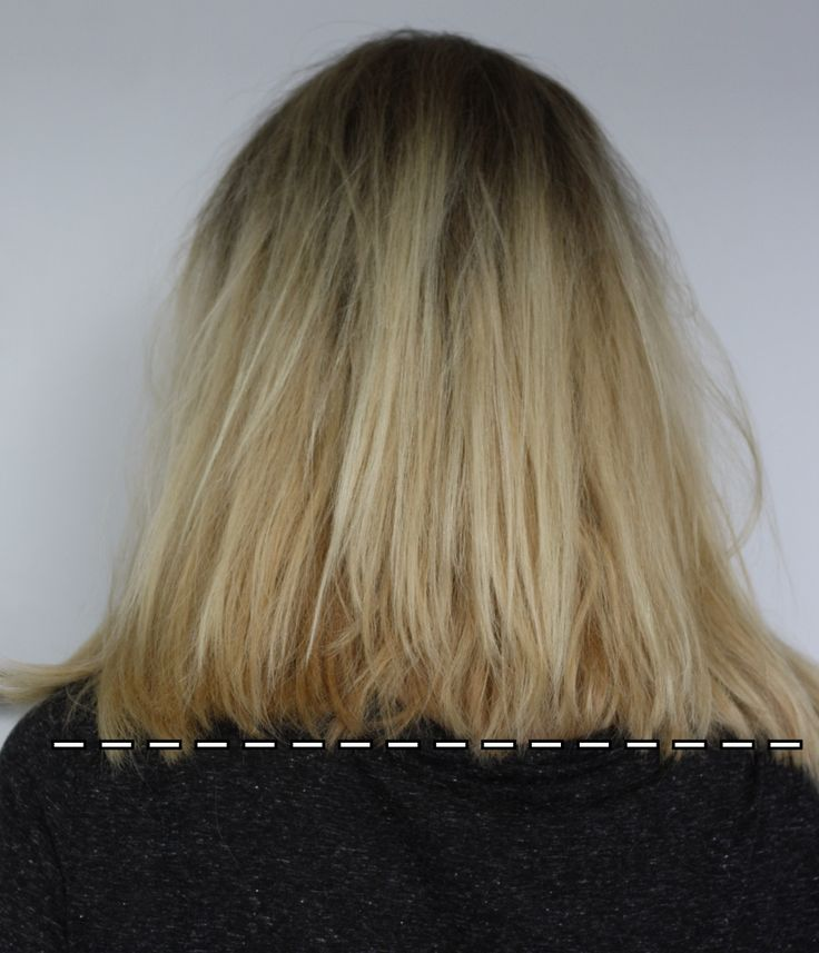 Long Bob selber schneiden - Do it yourself Anleitung für den Clavicle Cut 11