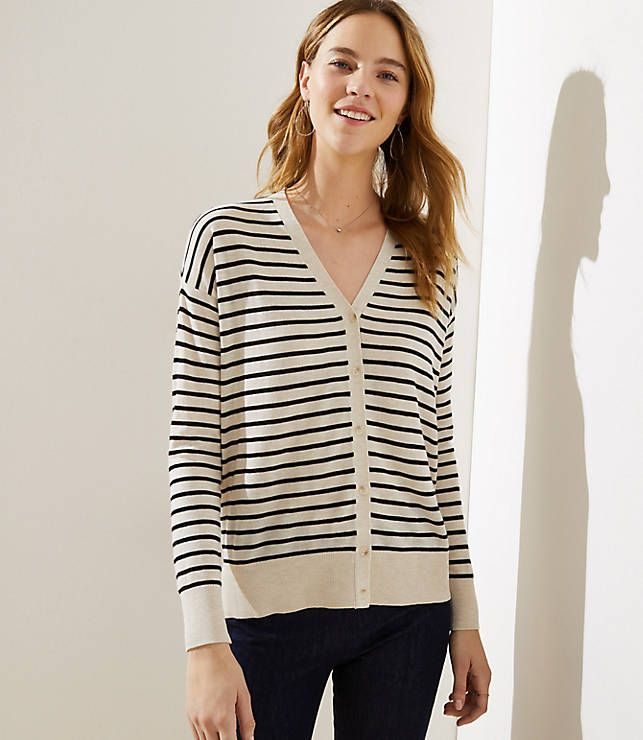 Old navy small petite loft v neck cardigan