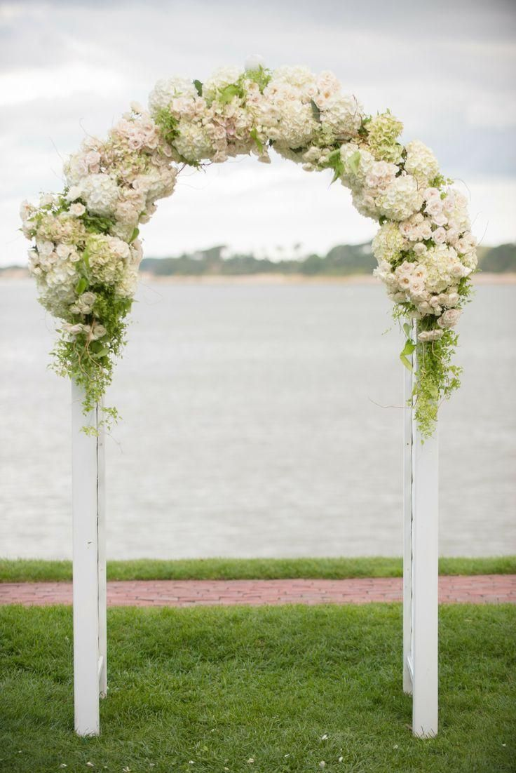 Rustic outdoor wedding arches for weddings wedding for Arch decoration ideas