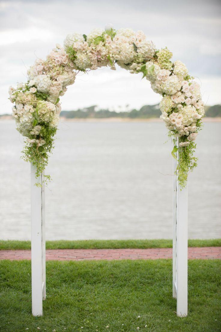 Floral Arche de mariage