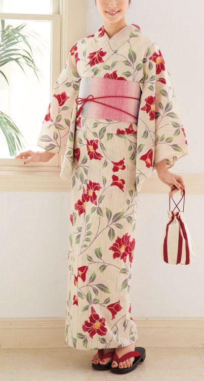 Yukata. Japan. (Yukata is smmer kimono. ) 源氏物語 浴衣