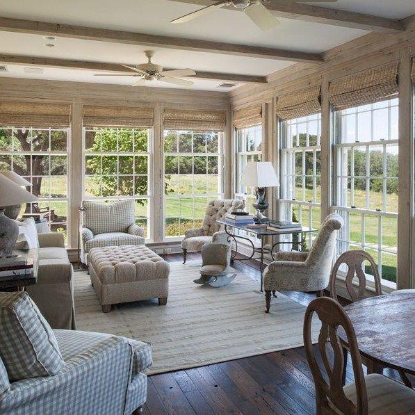 Home Design Addition Ideas: 15 Lovely Sunroom Design Ideas