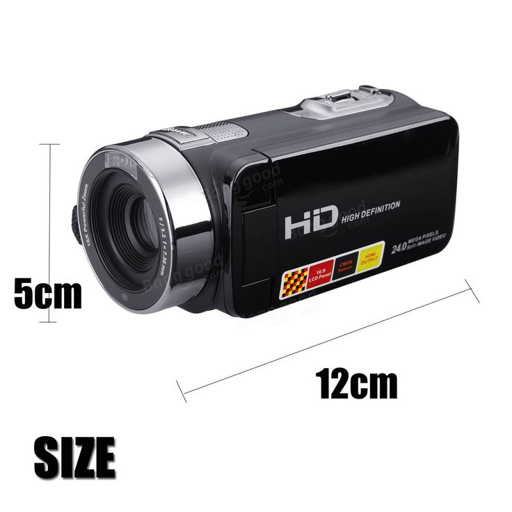 3.0 inch 1080P FHD Video Camcorder Night-shot 24MP Digital Camera With Remote Control Sale - Banggood.com
