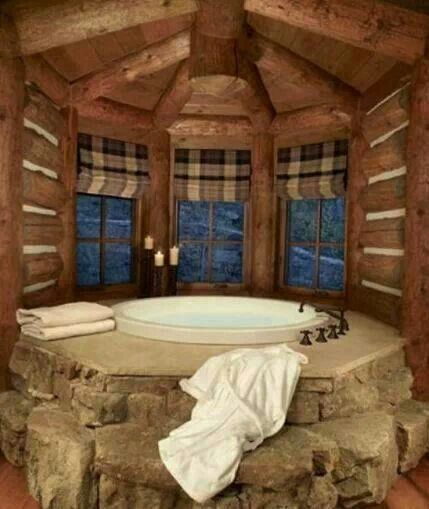 Another idea for hottub... would require less work so ....