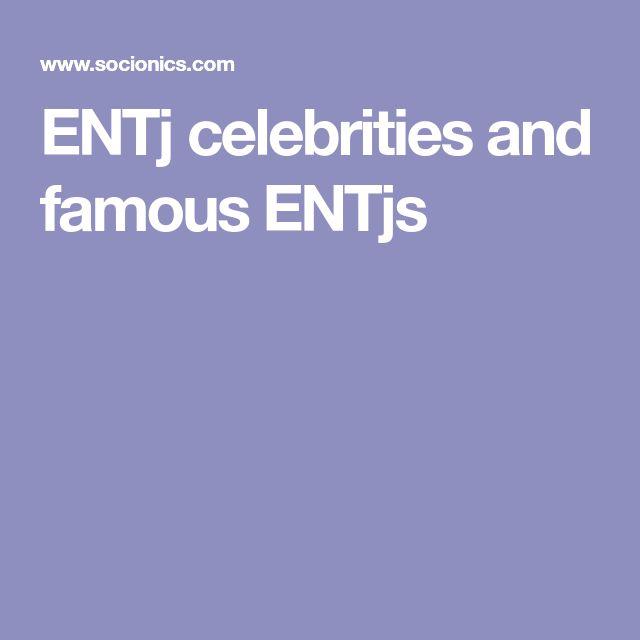 ENTj celebrities and famous ENTjs