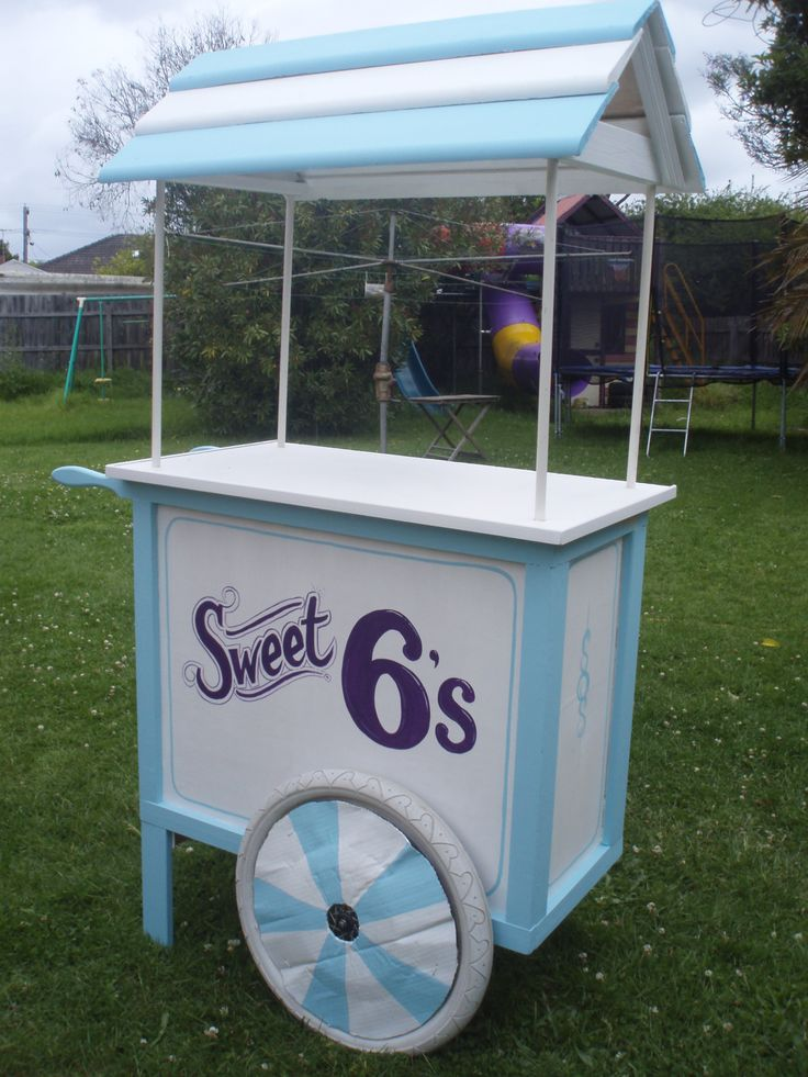 Lolly Cart. Candy cart.