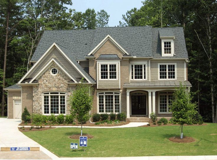 Stone Brick Cedar Shake Exterior Everything About
