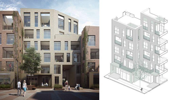 Alison Brooks Architects _ Severn Place _ Cambridge _ Facade Detail