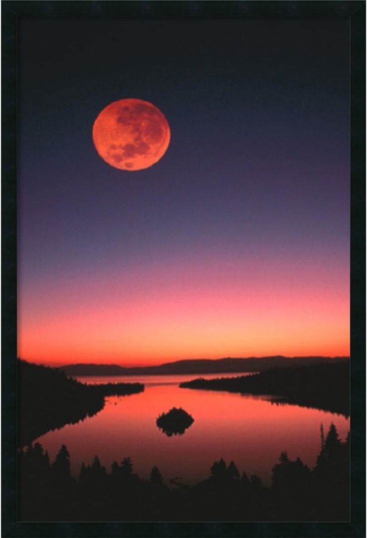 red moon at night meaning - photo #34