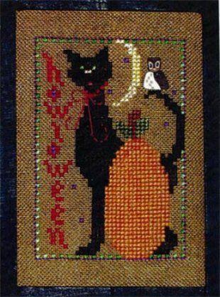 Howloween - halloween cross stitch pattern