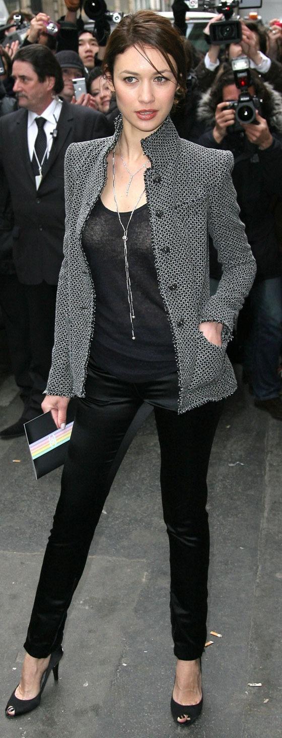 Olga Kurylenko - Sharp and very classy outfit. #fashion #pnw