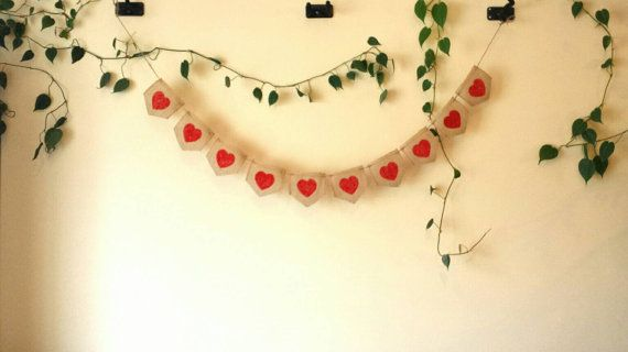 Check out this item in my Etsy shop https://www.etsy.com/ca/listing/265500783/burlap-valentines-day-banner-rustic