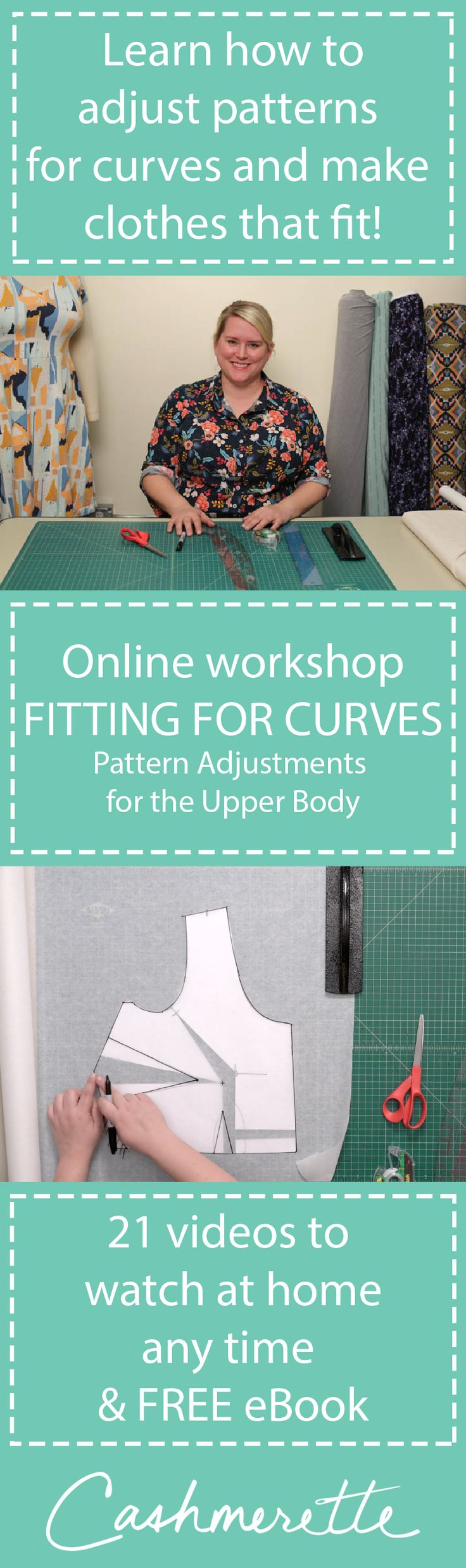 Fitting for Curves: a new online workshop that teaches you how to alter sewing patterns for curves