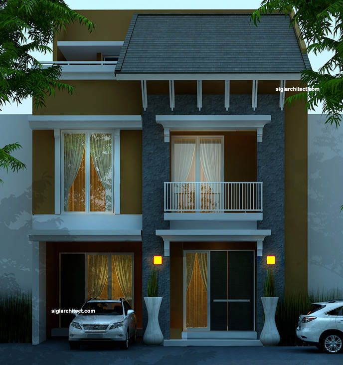 p-lukman-2.jpg (688×732) | Rumah minimalis, Rumah, Desain ...