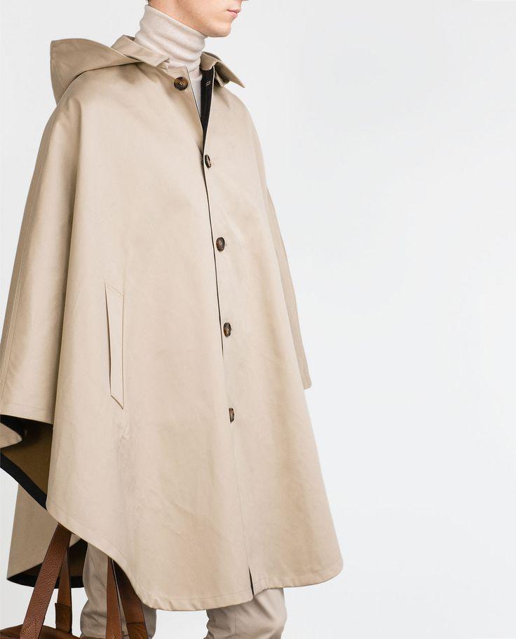 Image 2 de CAPE À CAPUCHE de Zara