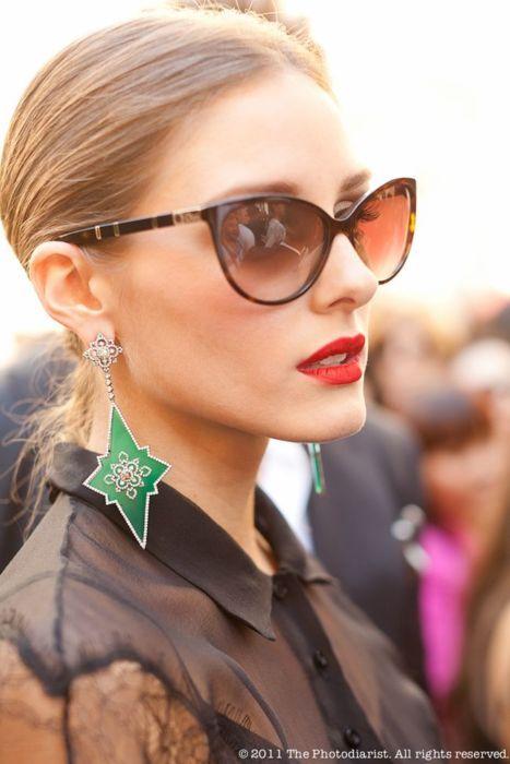 Olivia Palermo In Dior Zeli Sunglasses