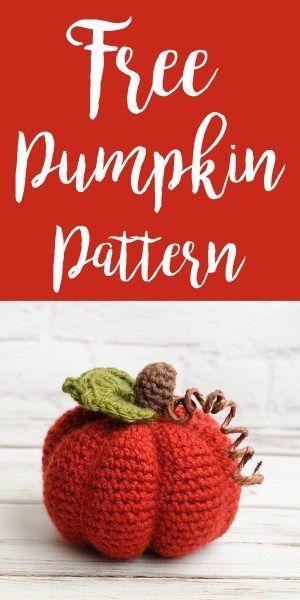 Love this free Medium Crochet Pumpkin Pattern