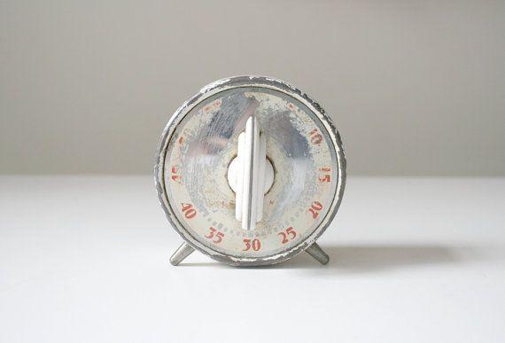 SALE Rustic Kitchen Timer by boxofhollyhocks on Etsy, $10.00
