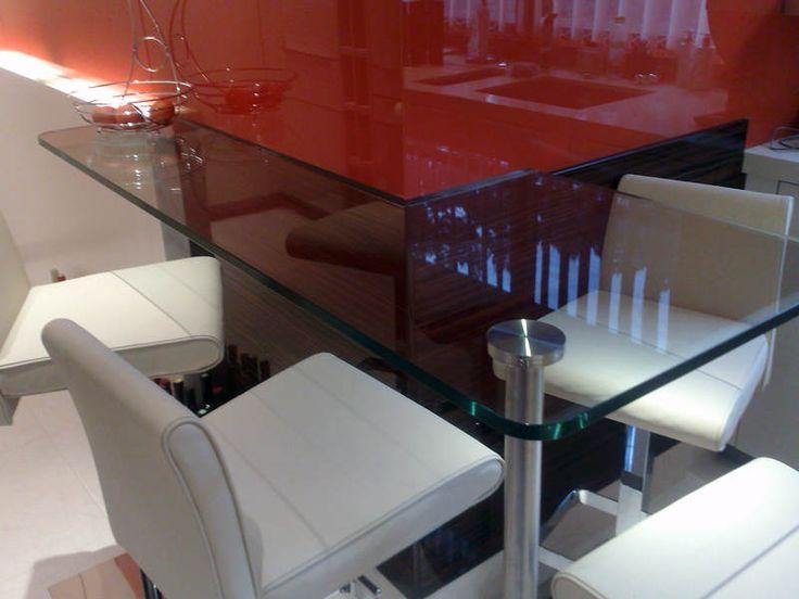 Glass Breakfast Bars - Order Online - Glasstops UK