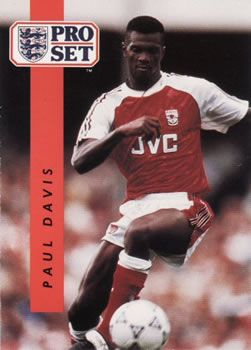 1990-91 Pro Set English League #8 Paul Davis Front