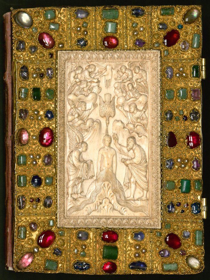 Оклад Евангелия, изготовлен около 750 г.