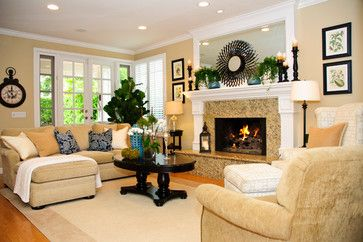 taupe living room decorating ideas | taupe color scheme design