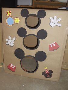 Mickey Mouse bean bag toss