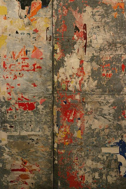 Untitled by French artist Raymond Hains (1926–2005). collection Museo Reina Sofía. via knautia on flickr