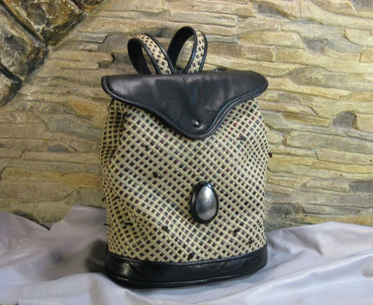 Backpack braided Diagonal by MABTESS on Etsy