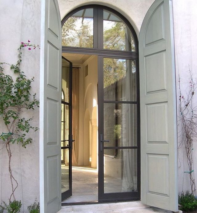 Elegant And Timeless Front Door Design.