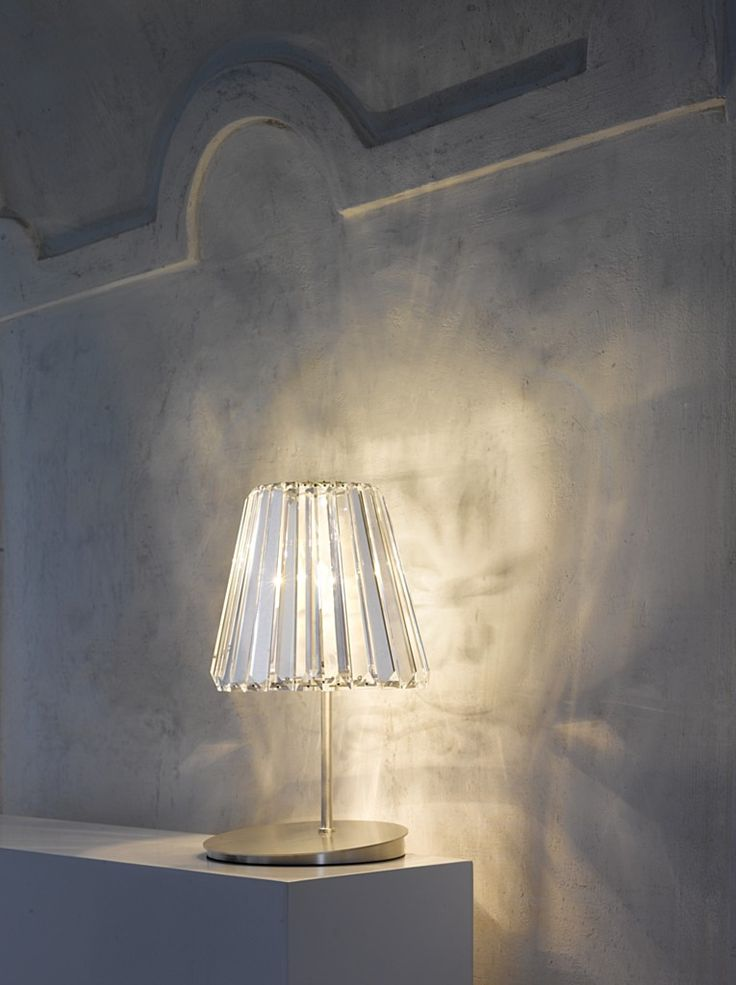 Contemporary Table Lamp (crystal) GLITTERS By Gabriela Nahlikova.