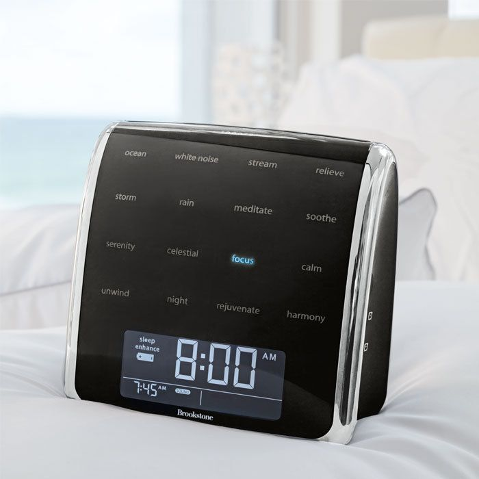 Tranquil Moments Sleep Sounds Alarm Clock from Brookstone