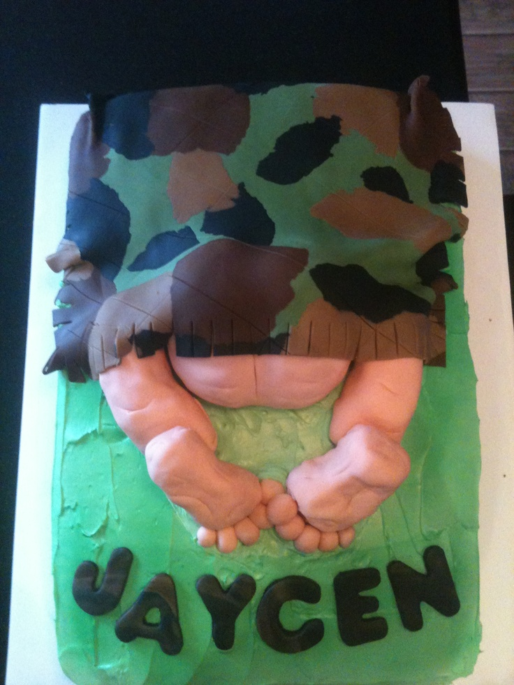 Redneck Baby Shower Cake Look Them Ugly Feet