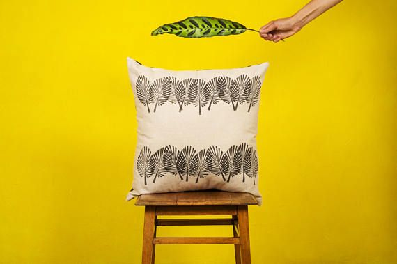 FANPALM LEAF -  CUSHION cover