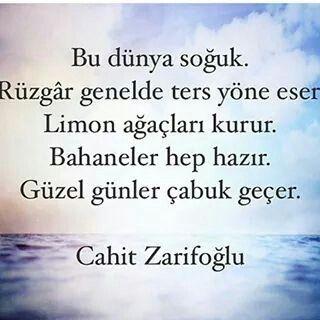 Cahit Zarifoğlu <3