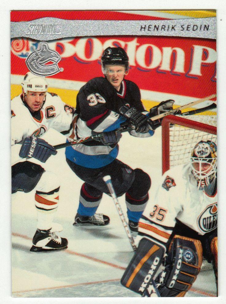 Henrik Sedin # 43 - 2001-02 Topps Stadium Club Hockey