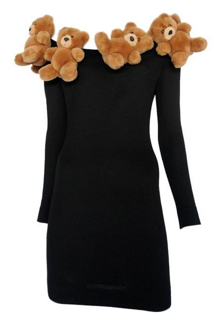 Dress    Franco Moschino, 1989    1stdibs.com.  .......huh???