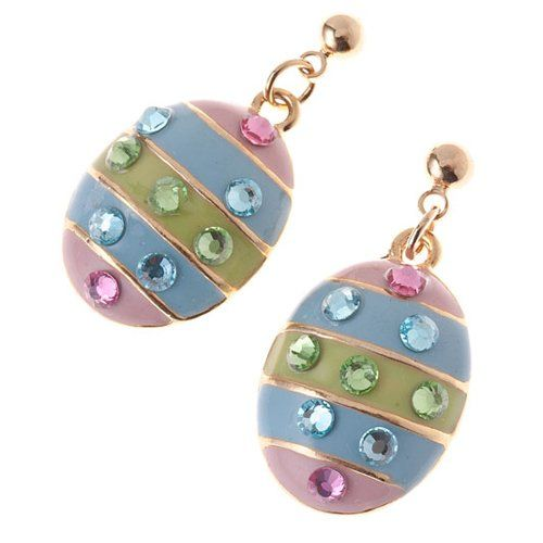 Spring Easter Jewelry Egg Multi-Colored Crystal « Holiday Adds